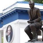 Память Лобановского почтили известные деятели политики и спорта (+ВИДЕО)