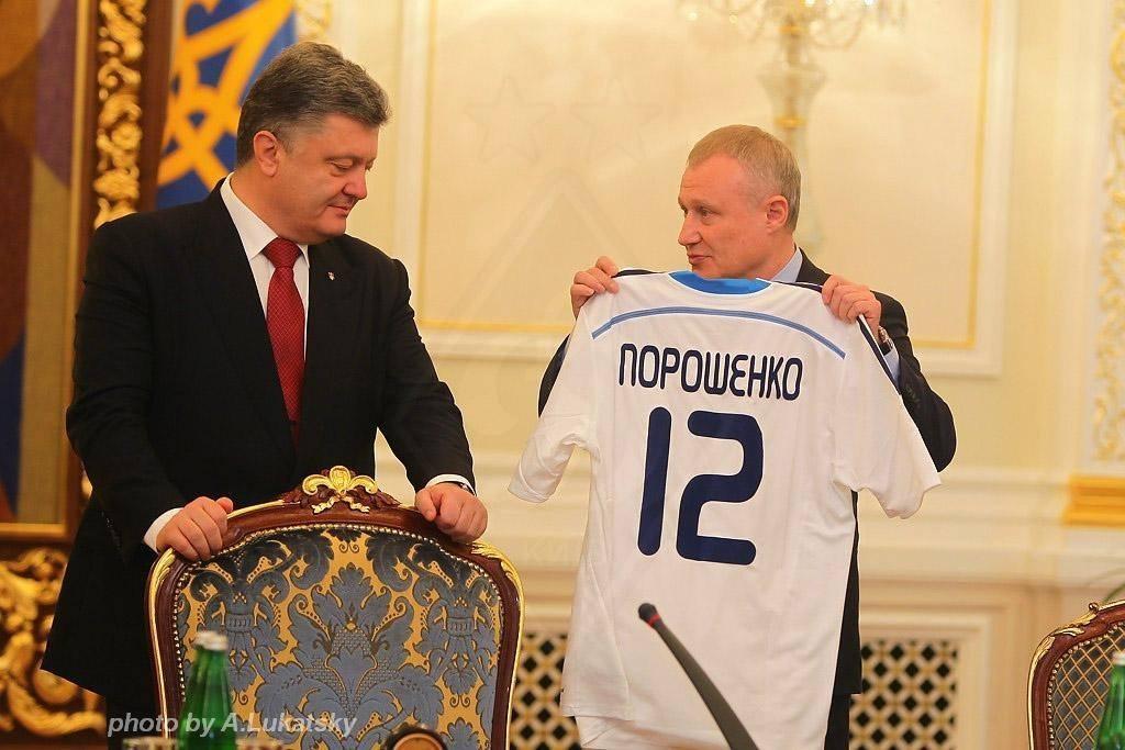 Порошенко: Уже в ближайшее время мы должны петь украинский футбольный гимн в Донецке (видео)