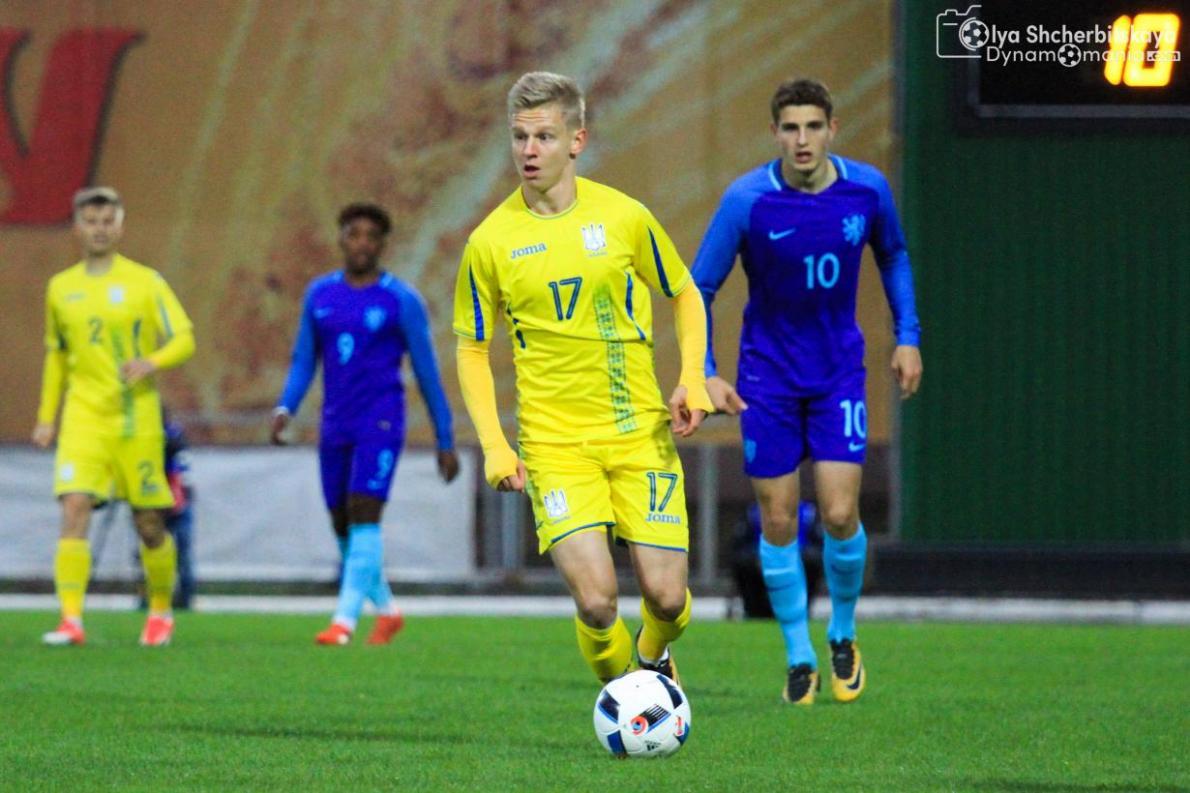 Зинченко сыграл больше всех игр за сборную в возрасте до 20 лет